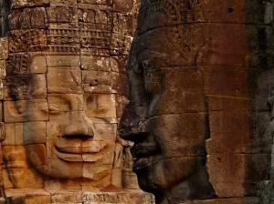 Buddha heads, Bayon Temple