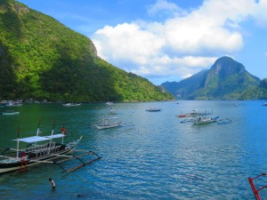 View from our room in El Nido