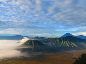 Bromo from the viewing platform