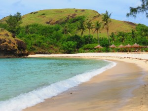 Beach in Kuta Lombok