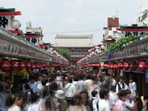 Sensoji Temple area, Asakusa