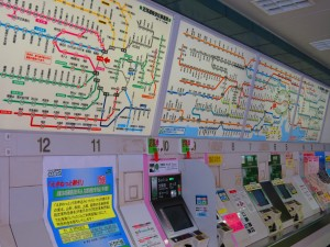 Tokyo rail system maps