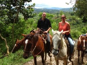 San Agustin horse trek