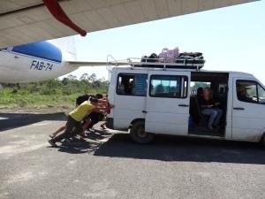 Bolivian taxi service