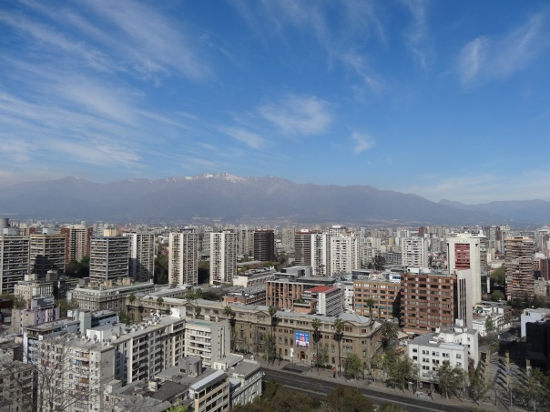 View from Cerro Santa Lucía