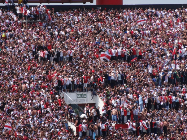A bit crowded
