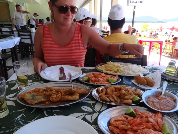 Mmmmm, seafood