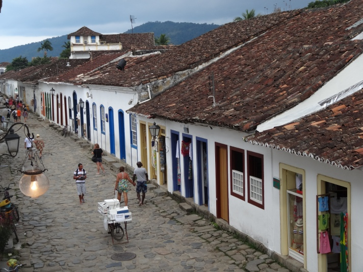 Paraty streets